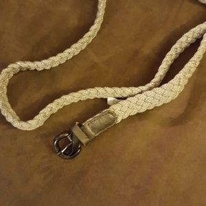 Accessories - Silver belt